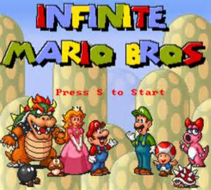 Mario Infinity Html5 Infinite Mario Bros