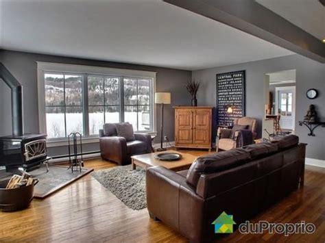 what color furniture with gray walls grey walls with brown furniture and oak cuarto