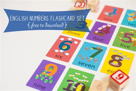 flash card maker for students english numbers flashcard printable gus on the go