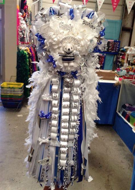 texas custom homecoming mum garter all colors