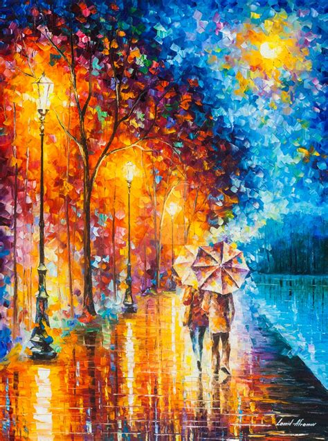 best painting love by the lake 2 by leonid afremov by leonidafremov on
