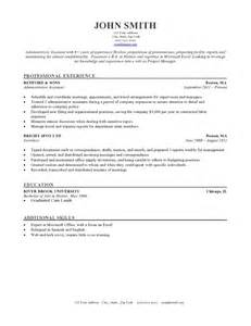 free chronological resume template microsoft word 50 free microsoft word resume templates for