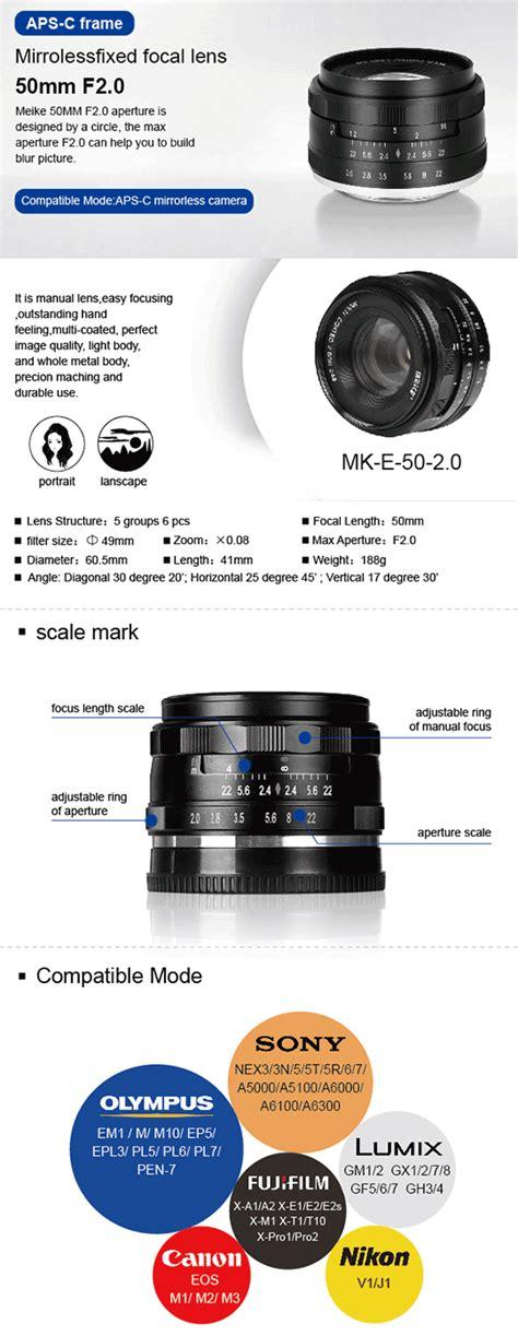 Lensa Wide Meike 35mm F1 7 Aps C For Micro 4 3 Mount Olympus Panasonic meike announced four new mirrorless lenses photo rumors