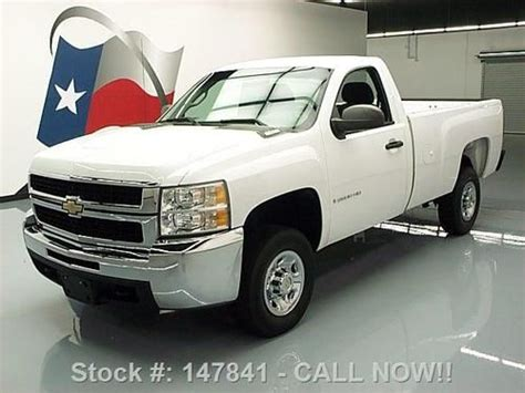 how make cars 2008 chevrolet silverado 2500 auto manual sell used 2008 chevrolet silverado 2500 hd reg cab longbed 44k mi texas direct auto in stafford
