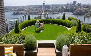 Rooftop Plants slope garden ideas city landscape top view from rooftop