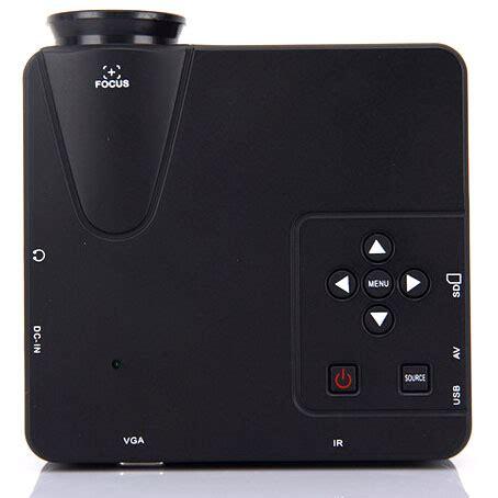 Lu Led Proyektor Mini by Proyektor Mini Led 640 X 480 Pixel 80 Lumens With Tv