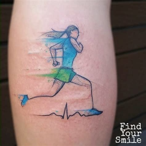 running tattoo pinterest 25 best ideas about running girl tattoos on pinterest