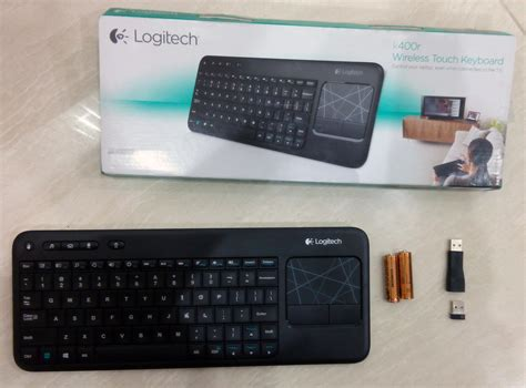 Dijamin Logitech Wireless Keyboard K400r review logitech wireless touch keyboard k400r
