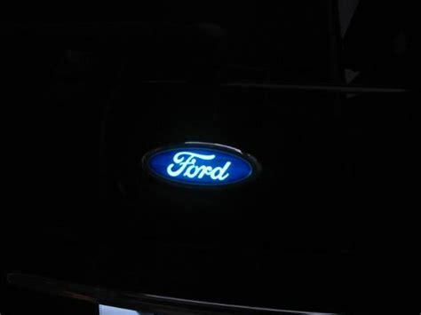 lighted f150 emblem 2016 lighted ford front emblem html autos post