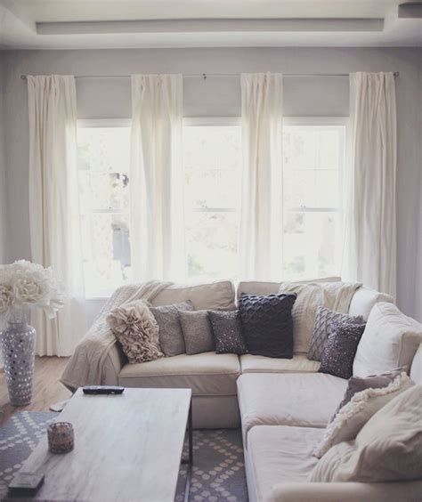 White Living Room Grey Curtains 25 Best Ideas About Grey And White Curtains On