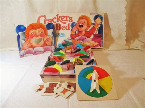 crackers in my bed crackers in my bed vintage board game matching game 1987