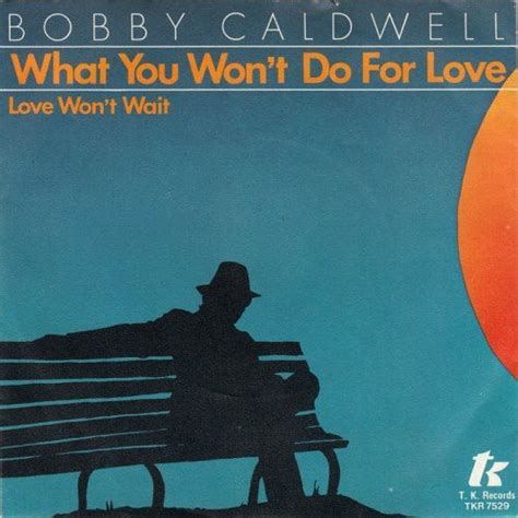 song of the day song of the day bobby caldwell what you won t do for