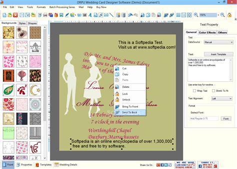 screenshots of wedding card designer software to learn how drpu wedding card designer software download