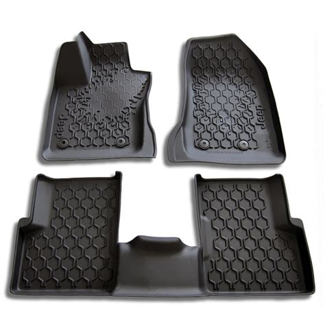 Jeep Car Mats by Jeep Renegade Floor Liners Front Rear Set All