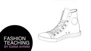 shoe drawing template shoe templates drawing images