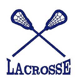 lacrosse logo embroidery designs machine embroidery