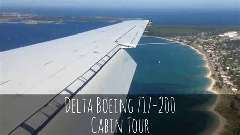 delta 717 cabin delta boeing 717 200 cabin tour