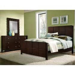 bedroom furniture mosaic 5 piece king bedroom set dark brown american signature furniture