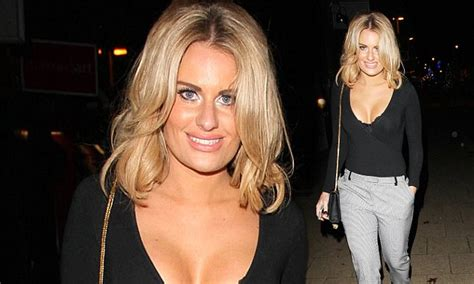 danielle towie haircut towie s danielle armstrong exposes her lingerie in open