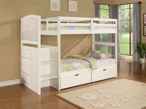 Bunk Beds With Storage Space Space Saving Bunk Bed Design Ideas For Bedroom Vizmini