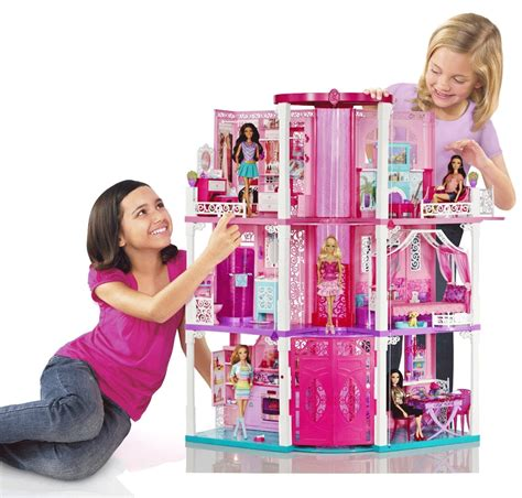 barbies dream house new barbies dream house doll mansion toy girl play birthday christmas gift fun
