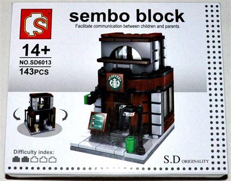 Sembo Block Mc D sembo block s d originality high eatery shop series 143 pcs sd6013 coffee shop