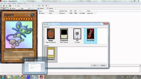 magix set editor custom card template magic set editor 2