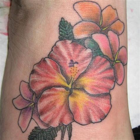 flowers design tattoo hawaiian tattoos designs ideas and meaning tattoos for you