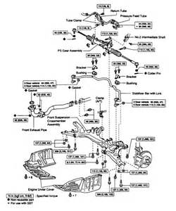 2002 camry power steering system diagram 2002 free