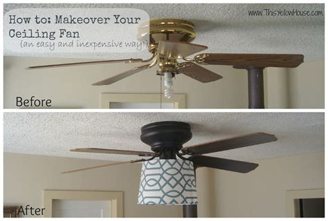 ceiling fans in my house this yellow house my ceiling fan makeover