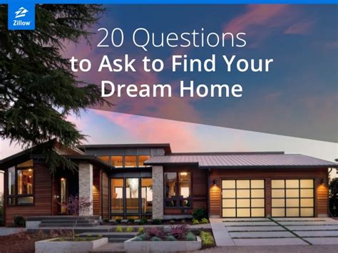 dream home finder 20 questions to ask to find your dream home