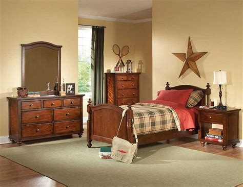 brown cherry kids bedroom set he422 kids bedroom