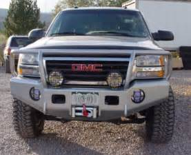 trail ready 10400g winch front bumper with guard