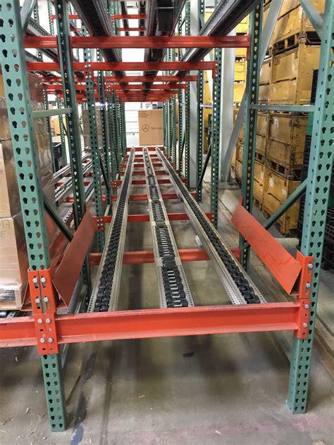 Pallet Flow Rack by Pallet Flow Rack Pallet Flow Rails Warehouse Rack And
