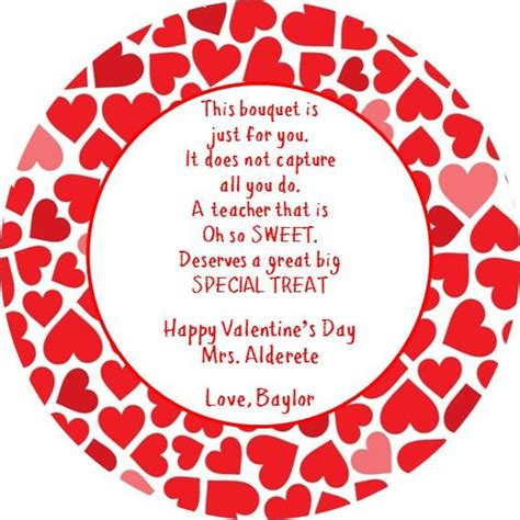 printable valentine tags for teachers 27 best images about valentines teacher gifts on pinterest