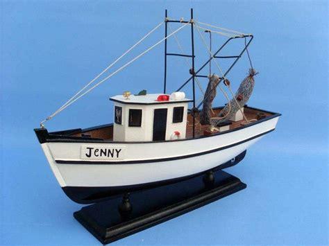 forrest gump shrimp boat buy wooden forrest gump jenny model shrimp boat 16 inch