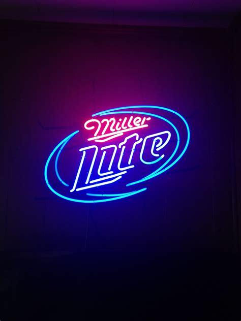 miller light neon sign miller light neon sign for sale in florida