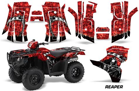 Honda Killer Sticker by Honda Recon Atv Sticker Decal Quad Graphic Kits Fits