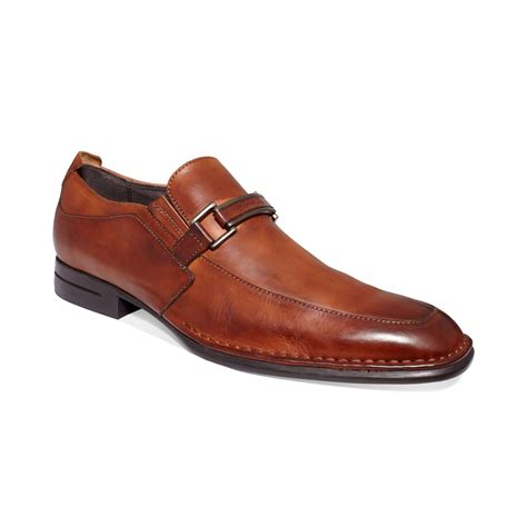 kenneth cole loafer kenneth cole so they say loafers in brown for cognac