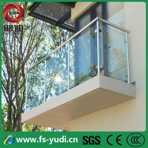 Exterior Balcony Modern Glass Railing For Diy Usage   Buy