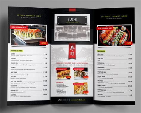 menu design for japanese restaurant entry 32 by fallengraphics for i need some graphic design