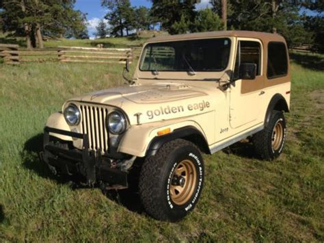 Jeep Golden Eagle Purchase Used 1979 Jeep Cj7 Golden Eagle No Reserve