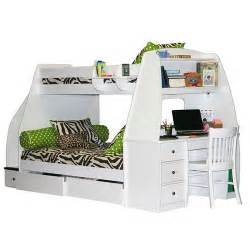 Enterprise twin over full bunk bed with desk right click to enlarge