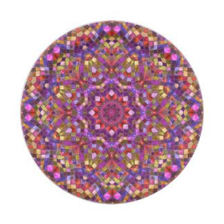 mosaic pattern plates funky plates zazzle co uk