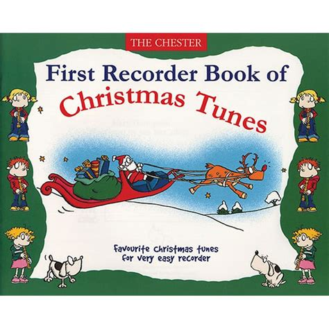 xmas tunes recorder book of tunes recorder box the musical instrument store