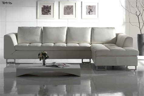 white leather contemporary sectional white leather sectional sofa blending contemporary