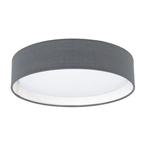 eglo pasteri wall light this is a led ceiling light complete with a matt grey shade