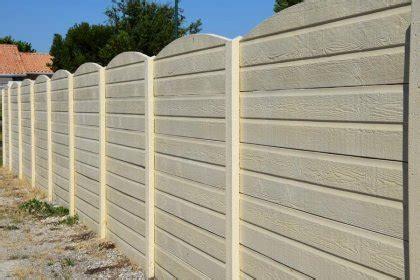 Cloture Beton Imitation Bois Tarif 2524 by Prix Cl 244 Ture B 233 Ton Imitation Bois Clod 233 Co