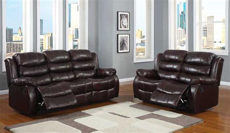 Homelegance Smithee Reclining Sofa Set Burgundy Polished Microfiber Reclining Sofa Sets