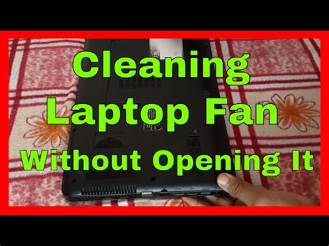 how to clean laptop fan clean out your laptop fan and keep cool doovi